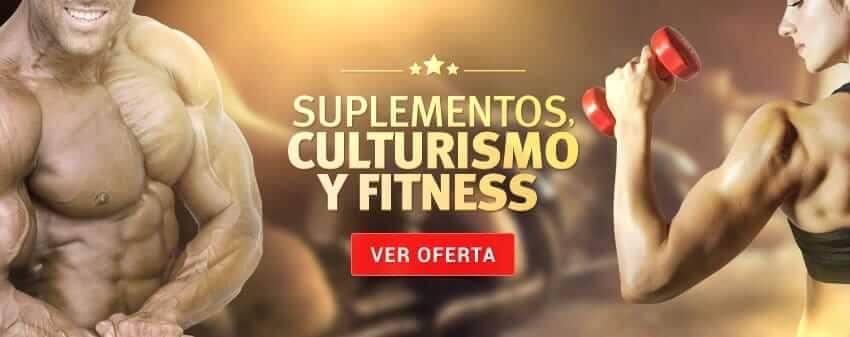 Supplementos culturismo y fitness