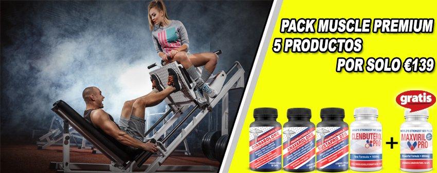 Pack Para musculo Premium