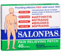 Salonpas parches para dolor muscular