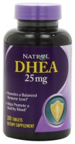 Natrol DHEA 25mg Tablets 300 Caps