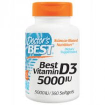 DOCTOR S BEST VITAMIN D3 PARA POTENCIAR EL SISTEMA INMUNOLOGICO 360 CAPS