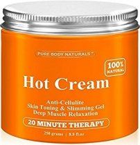 PURE BODY HOT CREAM FORMULA ANTICELULITICA 264 ML
