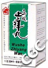 Píldora para dejar de picar (Wushe Zhiyang Wan)