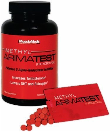 ARIMATEST de MuscleMeds metil--120 cápsulas/60 SubZorb tabletas