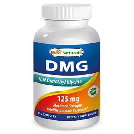 Best Naturals, DMG 125 mg 120 Cápsulas
