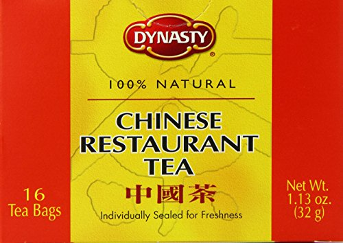 La dinastía té, estilo chino del resto, cuenta 16 paquetes (paquete de 12)