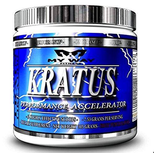 Kratus - #1 Pre entrenamiento potencia en Amazon votada Top clasificado para ingredientes de sabor y alta potencia - suplemento de bebida en polvo para ganar fuerza, conseguir rasgado, mejorar concentración, acometida de energía suave, mejores entrenamien