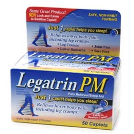 Legatrin PM Caplets 50 Caplets (Pack de 4)