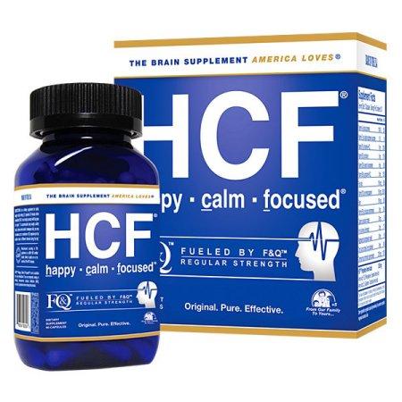 HCF Feliz Calma Suplemento cerebral focalizada - Aminoácidos Vitaminas y Minerales para la memoria la atención enfoque estado