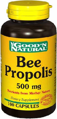 Propóleo de abeja 500mg - 100 caps,(Good'n Natural)