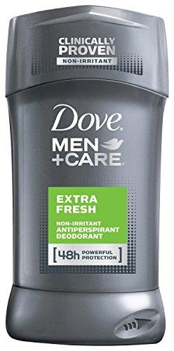 Dove Men + Care antitranspirante y desodorante, Extra fresco 2,7 oz, Twin Pack