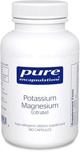 Encapsulados puras - 180's potasio magnesio (citrato)