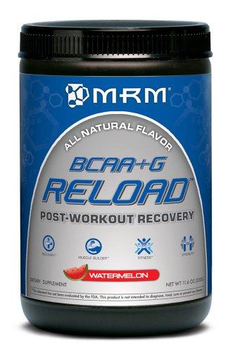Suplemento nutricional de la recarga Natural de MRM, sandía, 330 gramos
