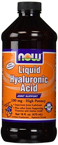 Ácido hialurónico líquido común apoyar ahora alimentos 16 Oz líquido