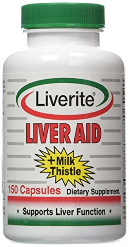 Liverite Liver Aid Milk Thistle 150Caps