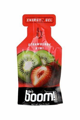 CARB Boom! Energy Gel (fresa Kiwi) - pack de 24 por Carb Boom