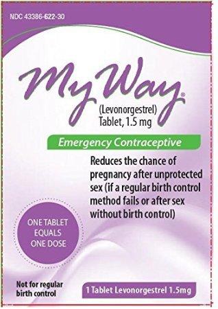 Mi manera emergencia 1 tableta de anticonceptivos * en comparación con el Plan B de un solo paso *