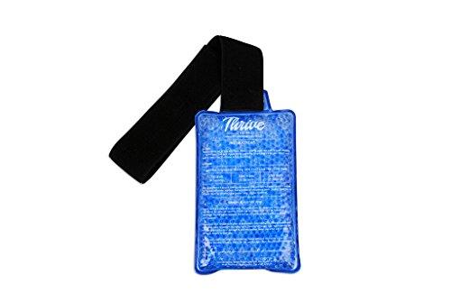 Paquete de hielo de alivio dolor con abrigo - caliente y crioterapia - gel Flexible y reutilizable grano tecnología proporciona instantáneo calor o hielo alivio del dolor, rehabilitación y terapia para lesiones deportivas y dolores
