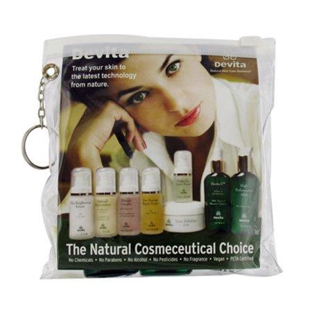 Devita Natural Cuidado de la piel contra el envejecimiento Kit - 1 Ea, 3 Pack