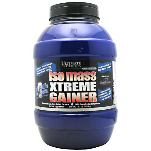 Ultimate Nutrition masa Iso Platinum Xtreme Gainer vainilla 10,11 lb