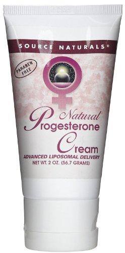 Crema de progesterona en tubo - Source Naturals, Inc. - 2 oz - Crema