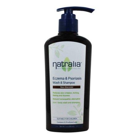 eczema psoriasis Gel de Baño y Champú sin jabón 7 Oz paquete de 2