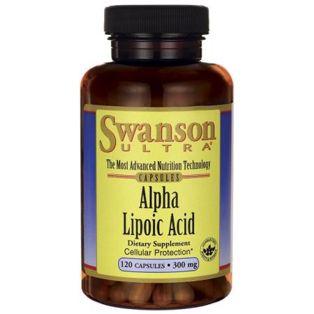 Swanson ácido alfa lipoico 300 mg 120 Caps
