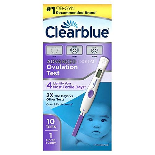 Avanzado de ClearBlue Test de ovulación Digital, cuenta 10