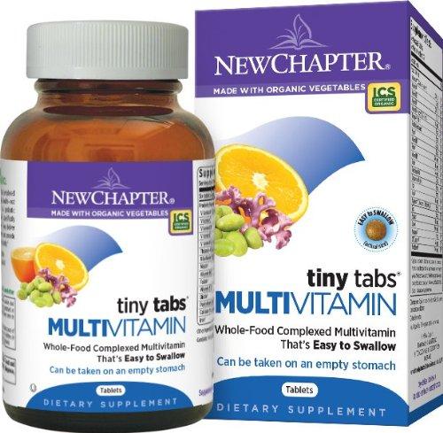 Nuevo capítulo pequeñas lengüetas multivitamínico, 192 tabletas