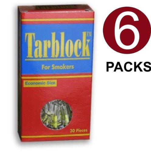Tarblock cigarrillo filtros Pack 6