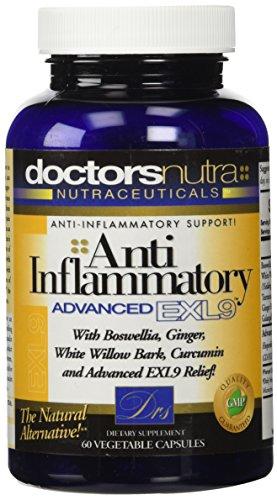 Antiinflamatorio natural avanzado suplemento de alivio de dolor de EXL9