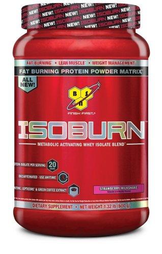 Isoburn proteína de BSN, batido fresa 20 porciones