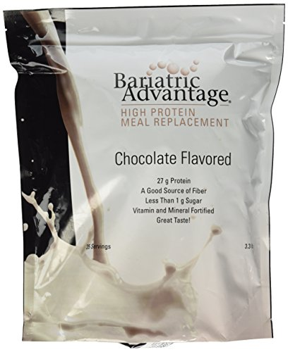 Reemplazo de comidas de ventaja bariátrica del polvo (35 porciones) - Chocolate