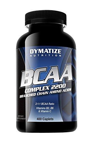 Nutrición de Dymatize BCAA 2200 complejo, 400 cápsulas (empaque puede variar)