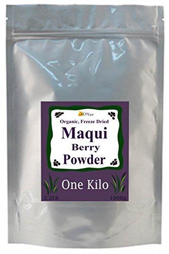 CurEase 100% puro orgánico liofilizado Maqui Berry a granel en polvo Kilo 1kg (2.2 lb)