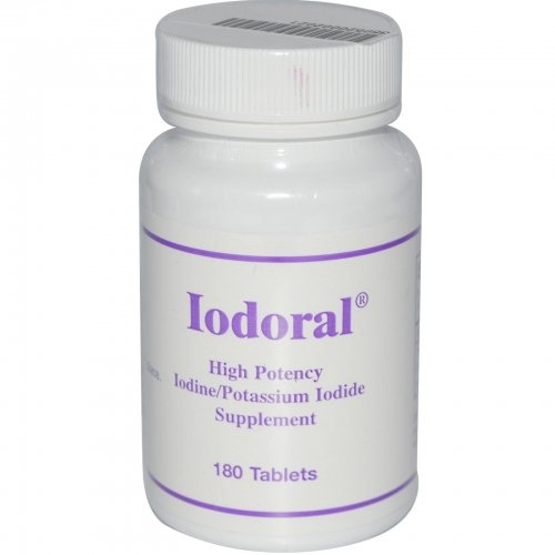 Optimox Iodoral 12.5mg 180 tabletas
