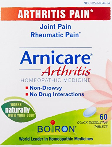 Boiron Arnicare artritis dolor alivio tabletas, cuenta 60