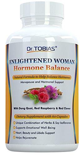 Dr. Tobias mujeres Equilibrio Hormonal y la menopausia (60 cápsulas) de apoyo