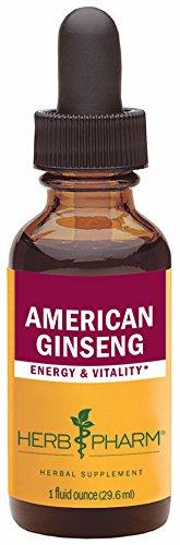 Pharm hierba certificada orgánica Ginseng americano extracto - 1 onza