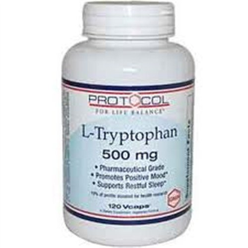 L-triptófano 500 mg 120 VegiCaps