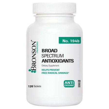 Bronson amplio espectro antioxidantes, 120 Tabletas