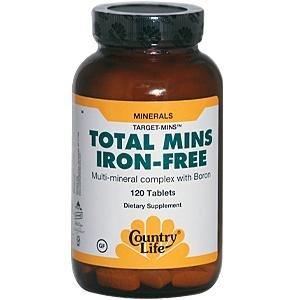 País vida destino minutos libre de hierro Total minutos varios minerales complejos, 120-Conde