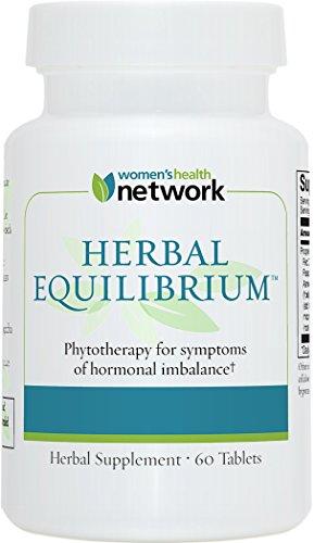Equilibrio de hierbas - 60 comprimidos - menopausia Natural alivio suplemento de desequilibrio Hormonal y sofocos