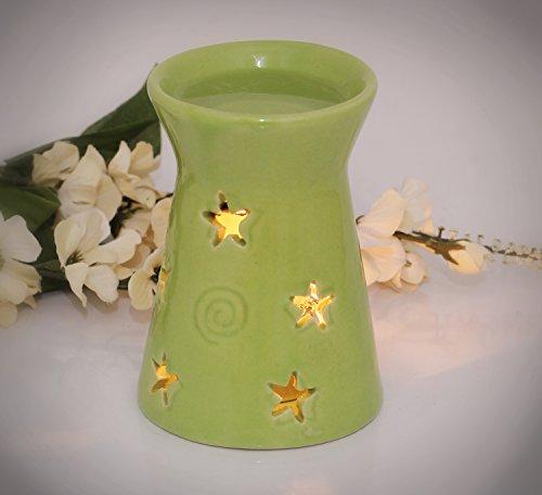 Twinkle Star aceite o la cera derretimientos de tartas calentador/quemador/difusor - venta en SouvNear Tealight vela aromaterapia aceites esenciales difusor de la fragancia - 4,8
