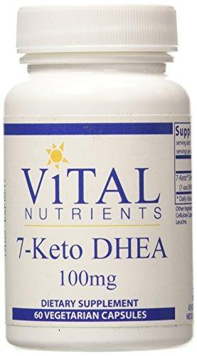 Nutrientes vitales 7-Keto DHEA, cuenta 60