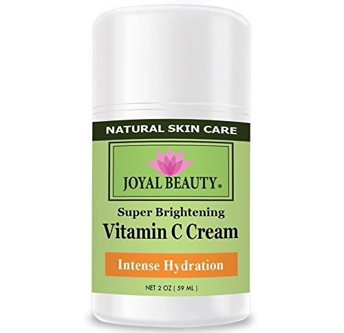 Mejor crema de vitamina C por Joyal belleza-rico en vitaminas C, E, A, B5. Piel herbal Healer para parche seco, arrugas, acné, Eczema. Mejor hidratación intensa crema hidratante para nutrir y suavizar la piel.