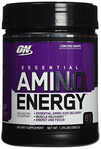 Óptima nutrición Amino energía uva 65 porciones