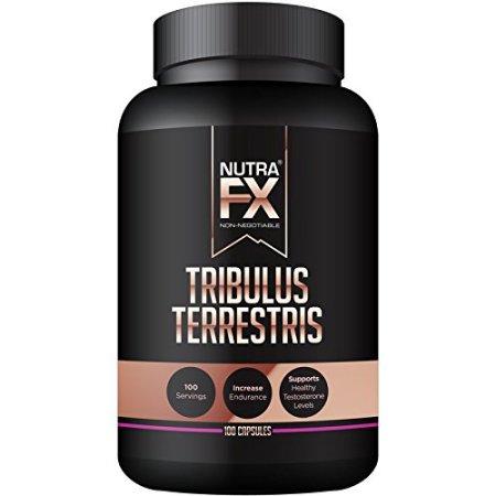 NutraFX Tribulus terrestris Extract 100 Cápsulas