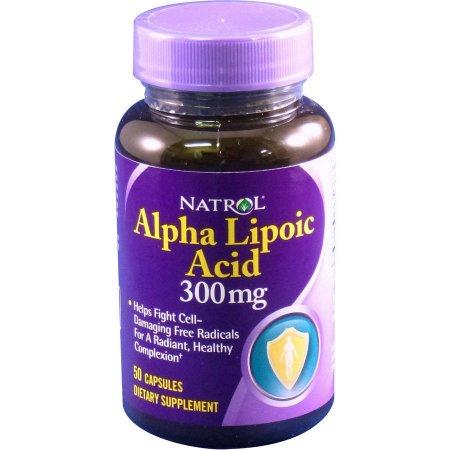 Natrol Ácido alfa lipoico Caplets 50 CT