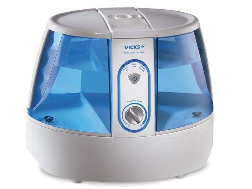 Germen libre humidificador de Vicks UV 99.999%